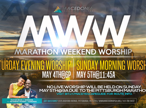Marathon Weekend Worship