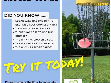 Logan Lake's Disc Golf Course!