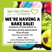 WHY BAKE SALE!