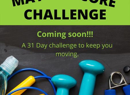 May Core Challenge!