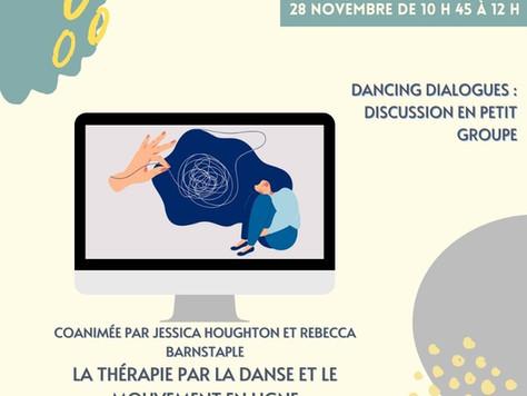(FR) Dialogues de danse : La TDM en ligne