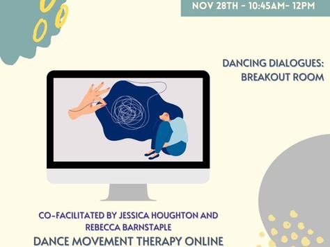 Dancing Dialogues Professional Exchange: DMT Online Session
