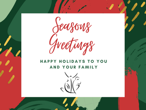Seasons greetings from the DMTAC Team!
