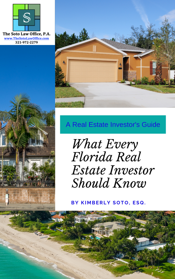 What Every Florida Real Estate Investor Should Know