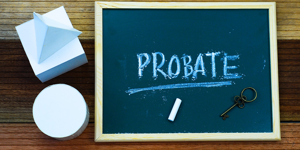 PITFALLS OF PROBATE and how to prevent them!