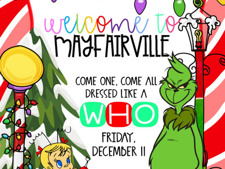 PBIS Event - Dress like a Who next Friday, December 11.
