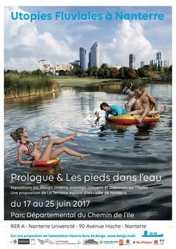 Affiche Utopies fluviales suite Nanterre