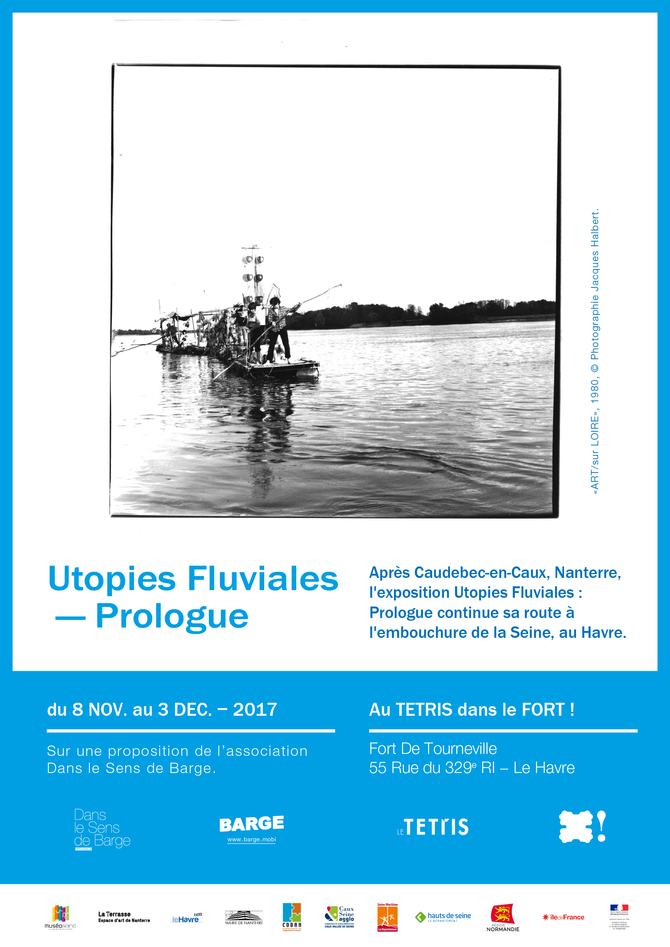 """Troisième exposition de la série collective """"Utopies fluviales : prologue"""""""