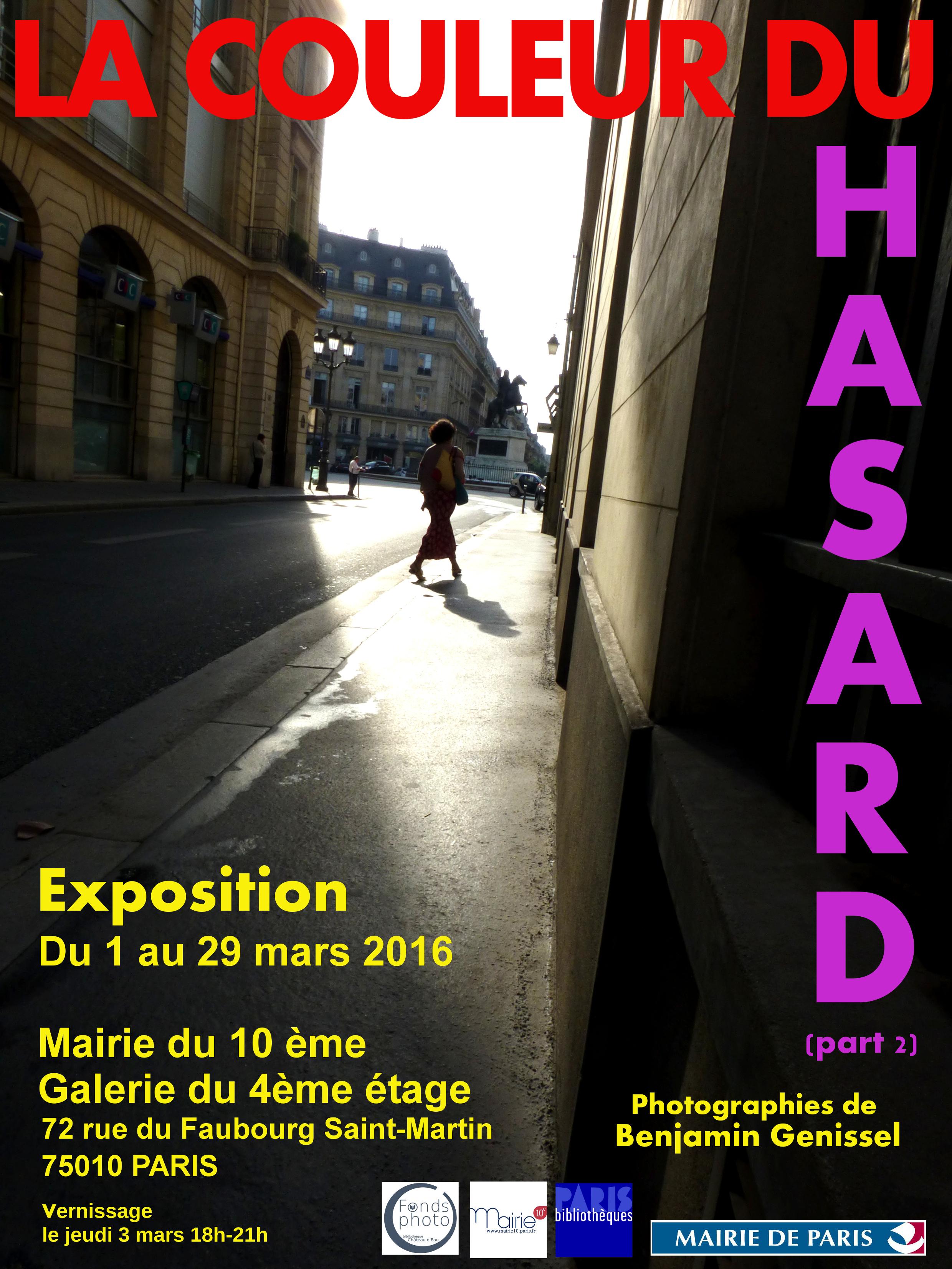 Expo Mairie du 10ème Paris 2016