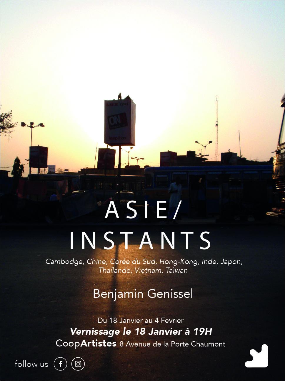 Asie/Instants CoopArtistes 2018