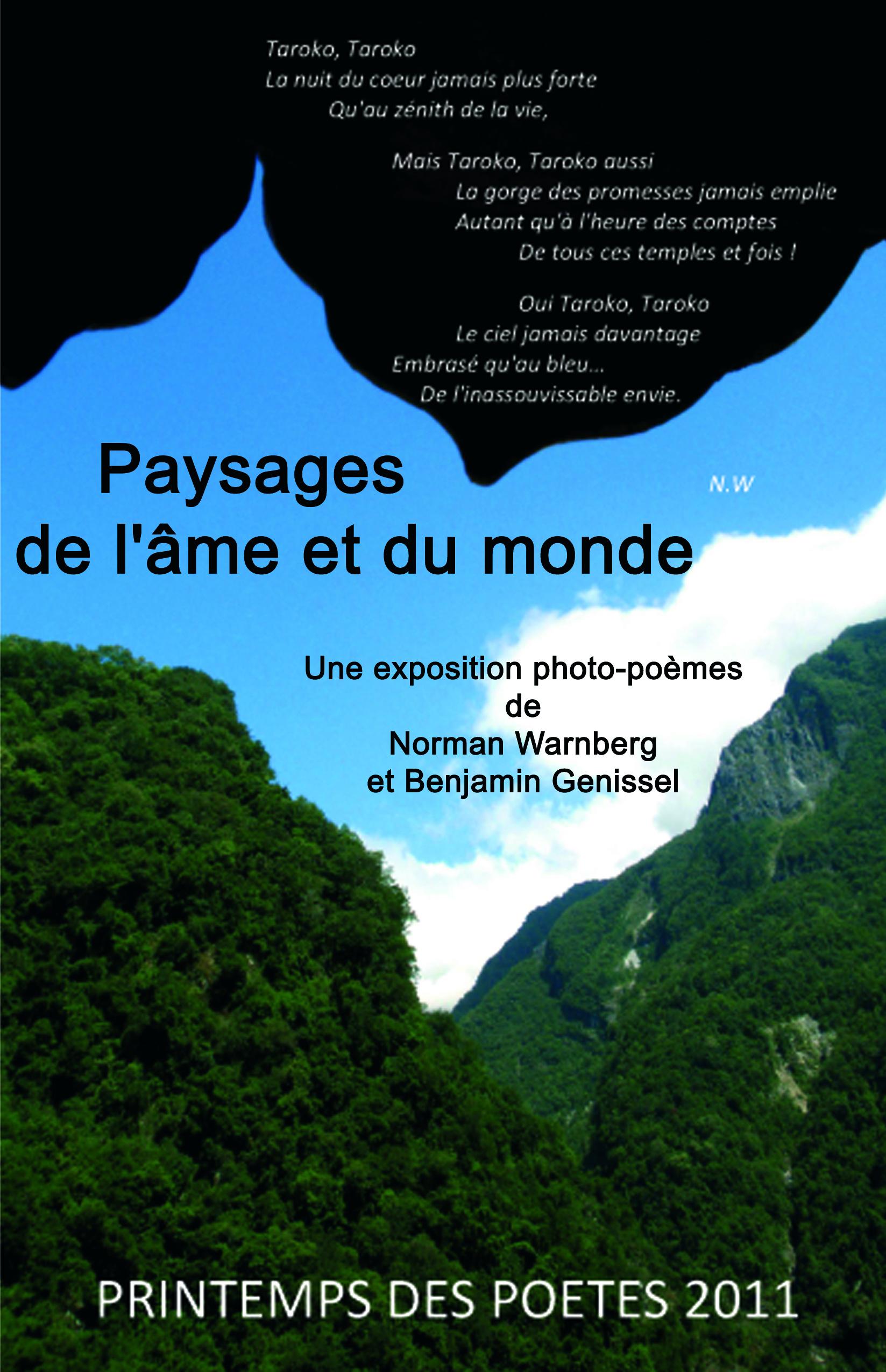 Paysages de l'âme et du monde 2011