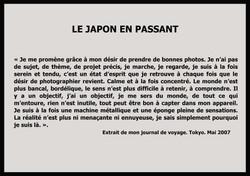texte Japon en passant