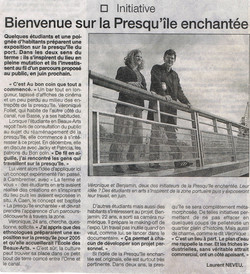 article ouest France 2004