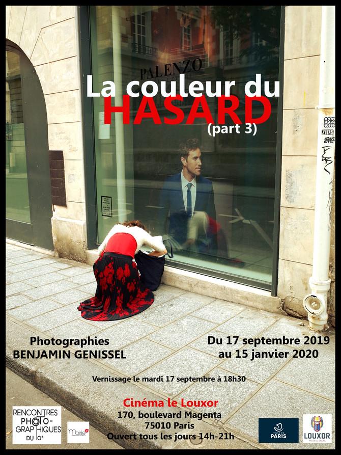 """Exposition pendant les Rencontres photos du 10e : """"La couleur du hasard (part 3)"""""""