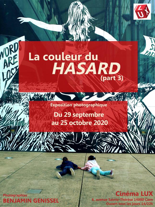 """""""La couleur du hasard (part 3)"""" exposée au cinéma Lux à Caen"""