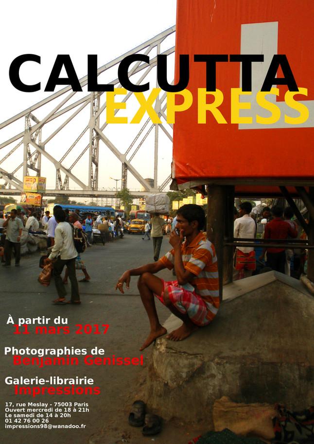 """La série """"Calcutta Express"""" exposée à la galerie Impressions à Paris à partir du 11 mars 2"""