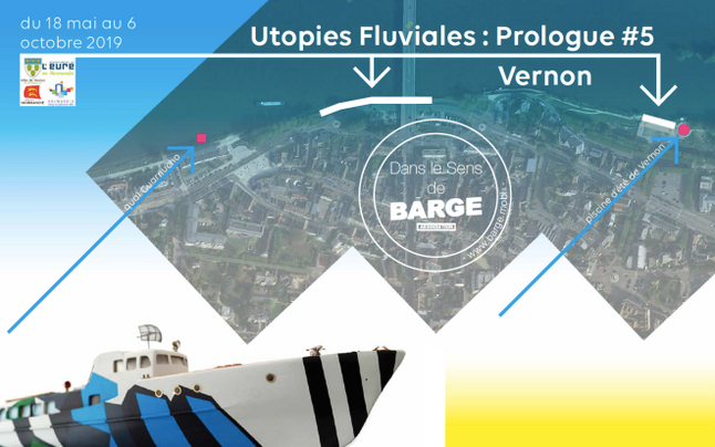 "5ème exposition de ""Utopies fluviales : prologue"""