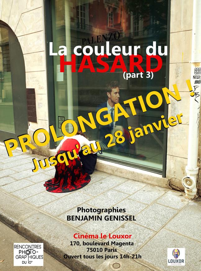 """Prolongation de l'exposition """"La couleur du hasard (part 3)"""" au Cinéma le Louxor"""