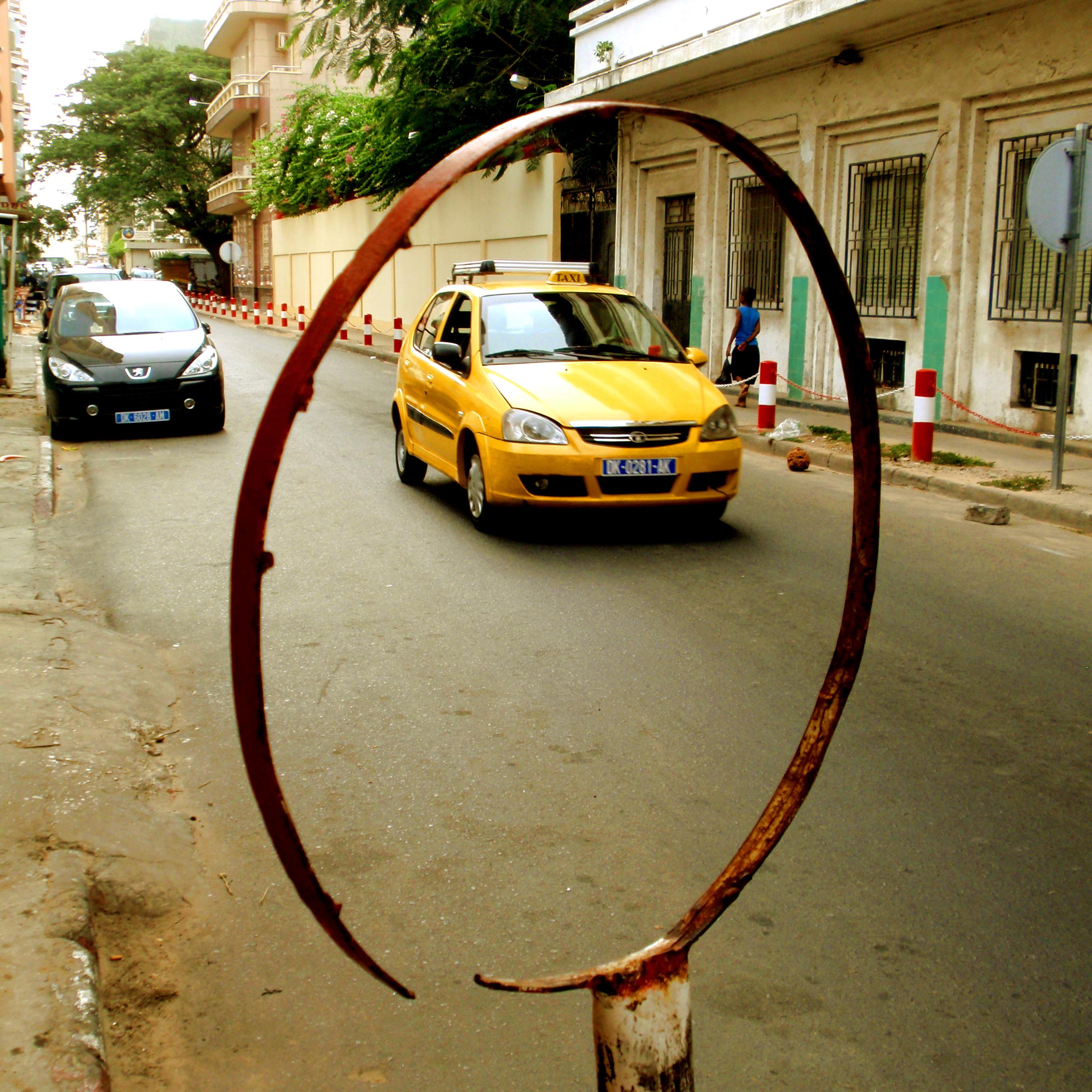 taxi dans cercle