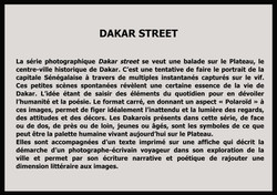 texte Dakar street