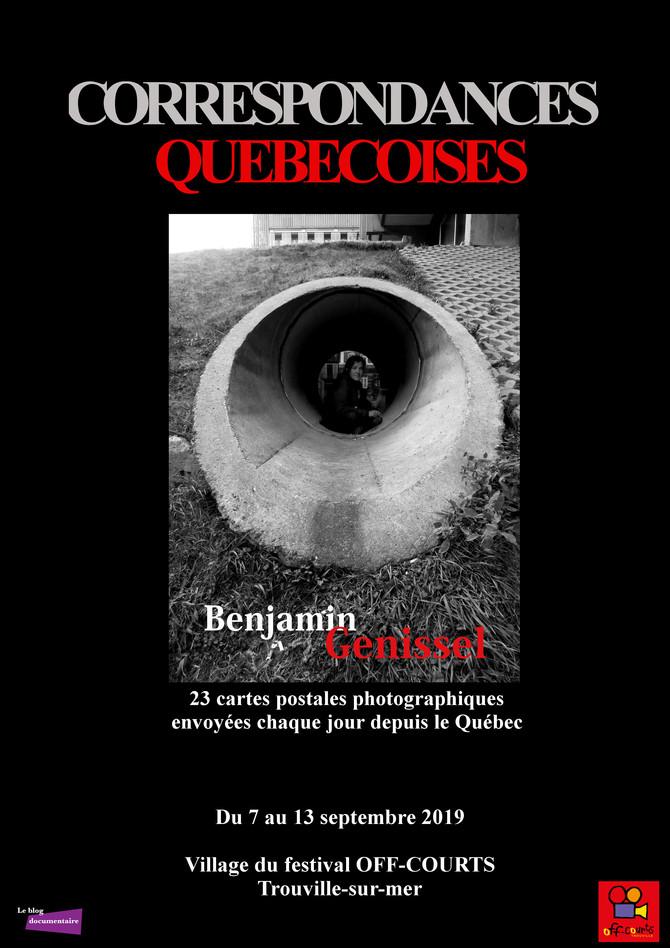 """""""Correspondances québécoises"""" en exposition au festival OFF-COURTS de Trouville"""