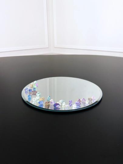 Miroir orné de Labradorites