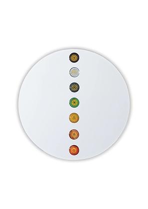 Miroir orné des 7 pierres des chakras