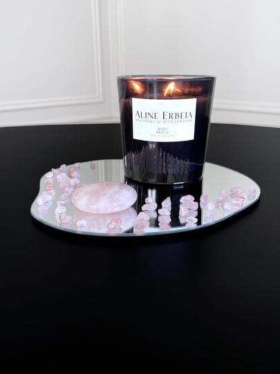 Grand miroir quartz rose bougie.webp