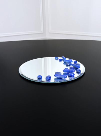 Miroir orné de Lapis-Lazuli