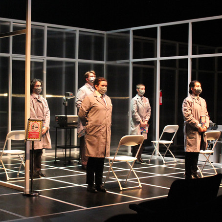 Theatre production of The Memo, premiering Oct. 29, to have in-person audience