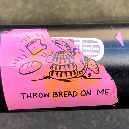 Commentary: Stickers around Salem