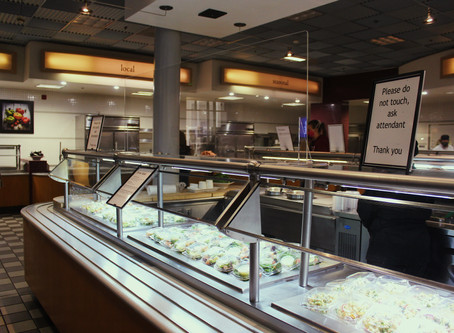 Despite decreased dining options, students remain appreciative