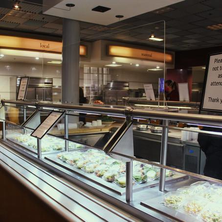 Despite decreased dining options, students remain appreciative