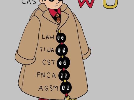 WU: Six schools in a trench coat