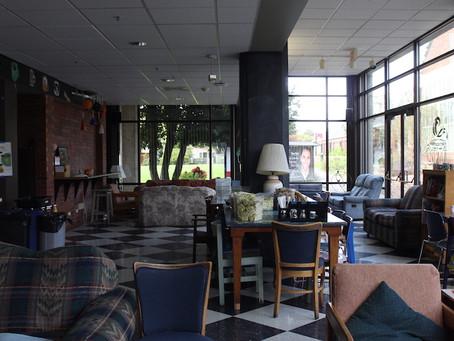 Photographs of a quiet campus