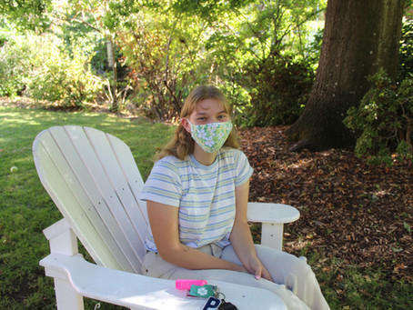 Students build reusable mask collections