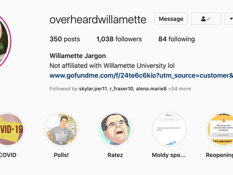 Student-run social media accounts provide light-hearted relief