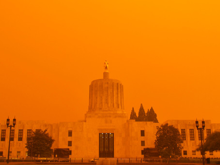 Air quality in Salem rises to dangerous levels due to fires 20 miles east