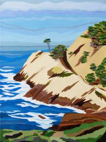 50. Headland Cove, Point Lobos