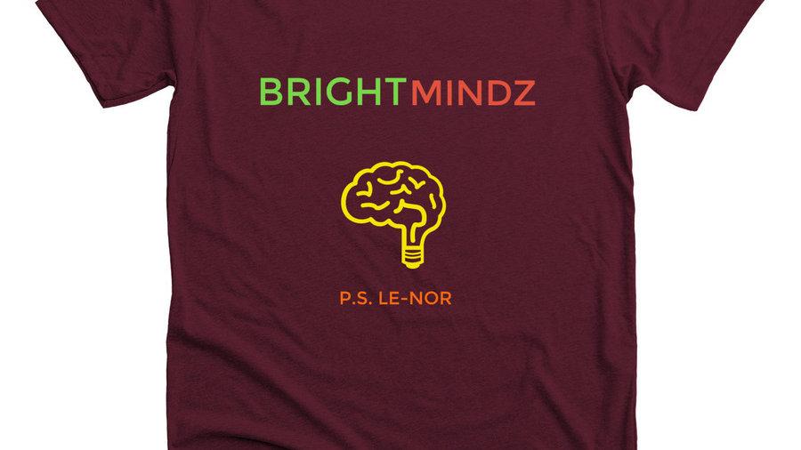 Maroon Bright Mindz T-Shirt Unisex