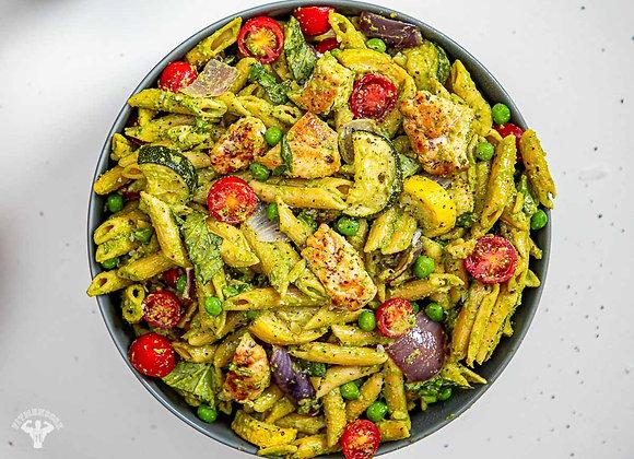 Mediterranean Pesto Pasta Salad