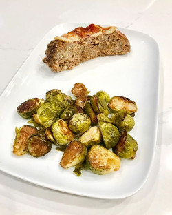 Meatloaf and Brussels Sprouts _One of th