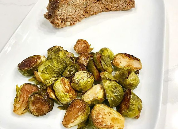 Meatloaf w/ Brussels Sprouts