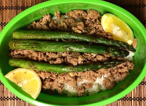 Lemon Turkey Asparagus