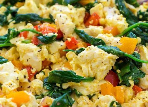Veggie Loaded Breakfast Scramble