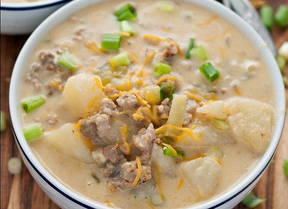 Cheesy Italian Potato Chowder
