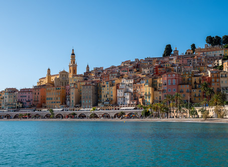 Menton - The Pearl of France