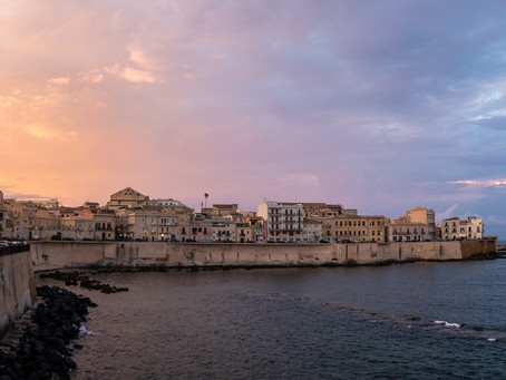 July - Summer escape to Syracuse, Sicily