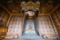 Minimal bedroom at Versailles