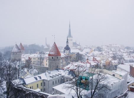 To Tallinn (EST), oh and Helsinki (FIN)